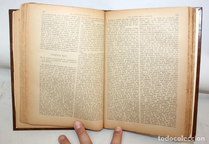 Libros de segunda mano: EL INGENIOSO HIDALGO DON QUIJOTE DE LA MANCHA. CERVANTES. CASA EDITORIAL SOPENA - Foto 7 - 206016823