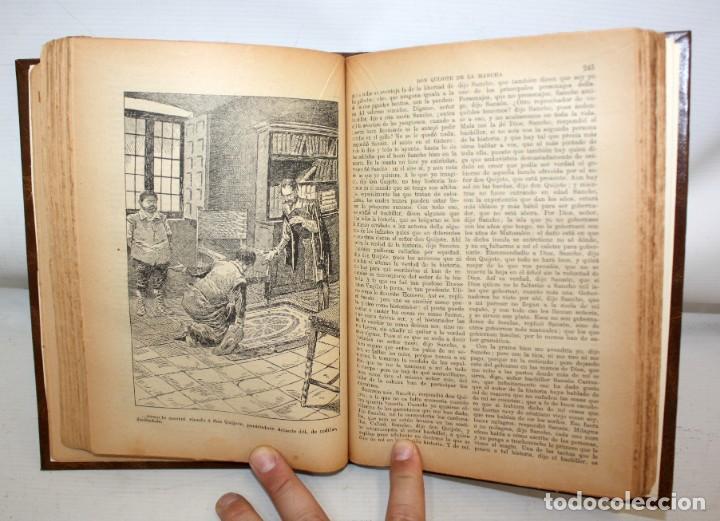 Libros de segunda mano: EL INGENIOSO HIDALGO DON QUIJOTE DE LA MANCHA. CERVANTES. CASA EDITORIAL SOPENA - Foto 8 - 206016823