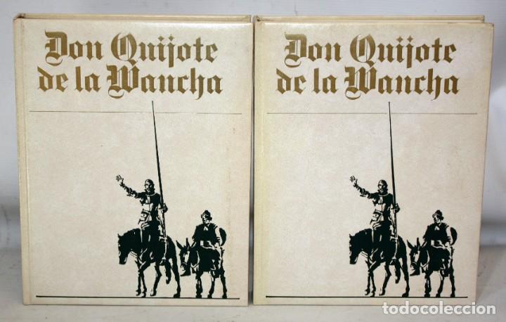 Libros de segunda mano: DON QUIJOTE DE LA MANCHA. CERVANTES. ILUSTRADO POR GREGORIO PRIETO. ED. DESCLÉE DE BROUWER. 2 TOMOS - Foto 2 - 206117295