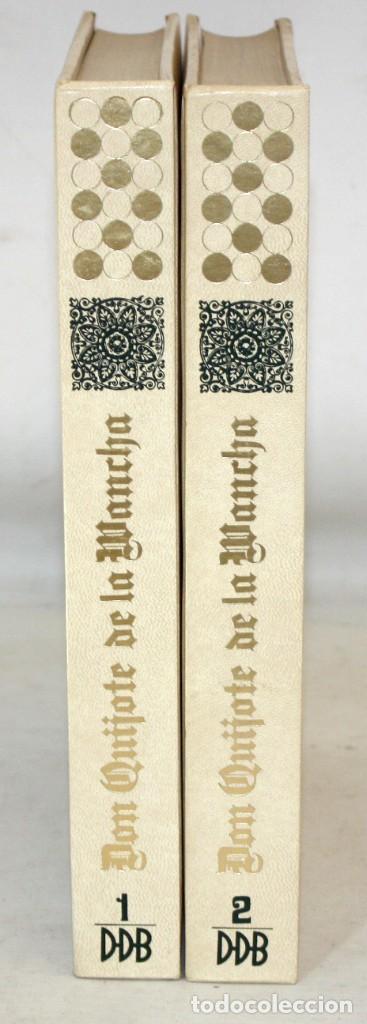 Libros de segunda mano: DON QUIJOTE DE LA MANCHA. CERVANTES. ILUSTRADO POR GREGORIO PRIETO. ED. DESCLÉE DE BROUWER. 2 TOMOS - Foto 3 - 206117295