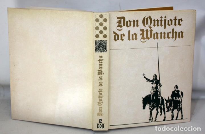 Libros de segunda mano: DON QUIJOTE DE LA MANCHA. CERVANTES. ILUSTRADO POR GREGORIO PRIETO. ED. DESCLÉE DE BROUWER. 2 TOMOS - Foto 4 - 206117295