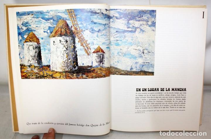 Libros de segunda mano: DON QUIJOTE DE LA MANCHA. CERVANTES. ILUSTRADO POR GREGORIO PRIETO. ED. DESCLÉE DE BROUWER. 2 TOMOS - Foto 9 - 206117295
