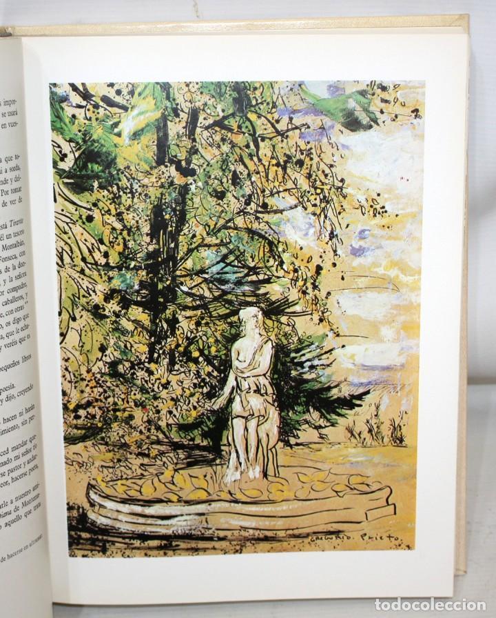 Libros de segunda mano: DON QUIJOTE DE LA MANCHA. CERVANTES. ILUSTRADO POR GREGORIO PRIETO. ED. DESCLÉE DE BROUWER. 2 TOMOS - Foto 10 - 206117295