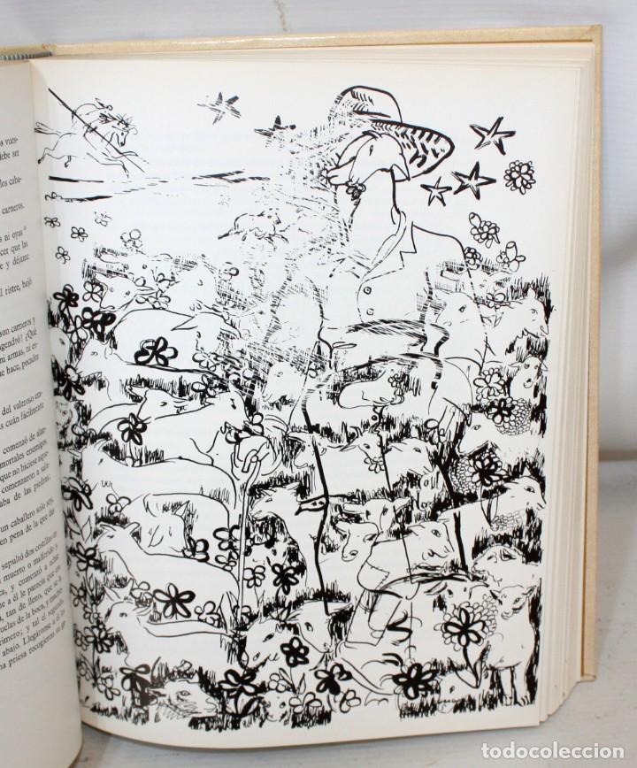 Libros de segunda mano: DON QUIJOTE DE LA MANCHA. CERVANTES. ILUSTRADO POR GREGORIO PRIETO. ED. DESCLÉE DE BROUWER. 2 TOMOS - Foto 13 - 206117295