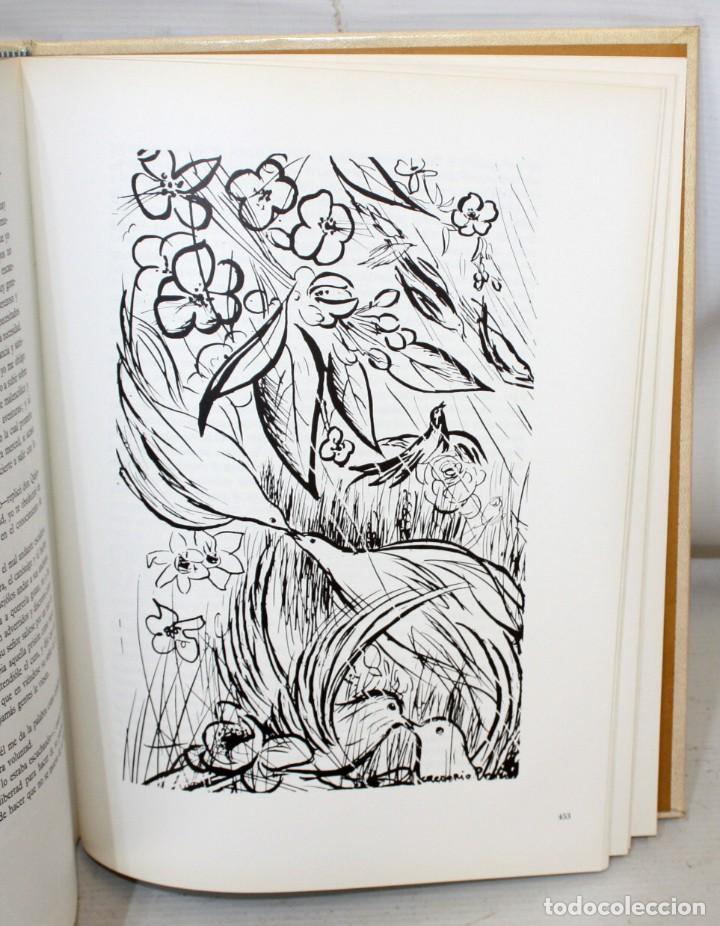 Libros de segunda mano: DON QUIJOTE DE LA MANCHA. CERVANTES. ILUSTRADO POR GREGORIO PRIETO. ED. DESCLÉE DE BROUWER. 2 TOMOS - Foto 15 - 206117295