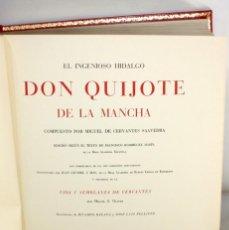 Libros de segunda mano: EL INGENIOSO HIDALGO DON QUIJOTE DE LA MANCHA (ILUSTRADO BALACA Y PELLICER) MONTANER Y SIMÓN 1970. Lote 206118600