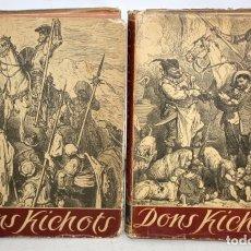 Libros de segunda mano: DON QUIJOTE DE LA MANCHA. EDICIÓN EN LETON. Lote 206120575