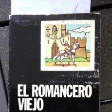 Livres d'occasion: EL ROMANCERO VIEJO. EDICIÓN DE MERCEDES DÍAZ ROIG. CATEDRA. 1976. Lote 206161643