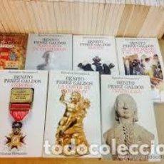 Libros de segunda mano: 46 TOMOS. COLECCIÓN COMPLETA. EPISODIOS NACIONALES GALDÓS ED. ALIANZA. Lote 206785231