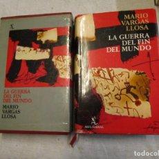 Libros de segunda mano: LA GUERRA DEL FIN DEL MUNDO - MARIO VARGAS LLOSA - ED. SEIX BARRAL. 531PP. 1ªEDICIÓN 1981 + INFO. Lote 206809170