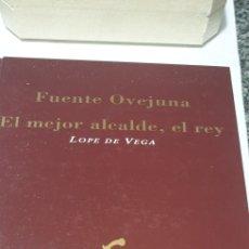 Libros de segunda mano: FUENTEOVEJUNA. EL MEJOR ALCALDE EL REY. Lote 206840838