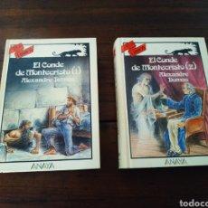 Libros de segunda mano: EL CONDE DE MONTECRISTO 2ª EDICIÓN VOL 1 Y 2 - ANAYA TUS LIBROS. Lote 206929977