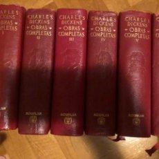 Libros de segunda mano: DICKENS, OBRAS COMPLETAS (AGUILAR). Lote 206950733
