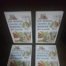 Libros de segunda mano: LOS MEJORES CUENTOS DE HADAS DEL MUNDO, 4 TOMOS COMPLETA TAPA DURA. Lote 207039108
