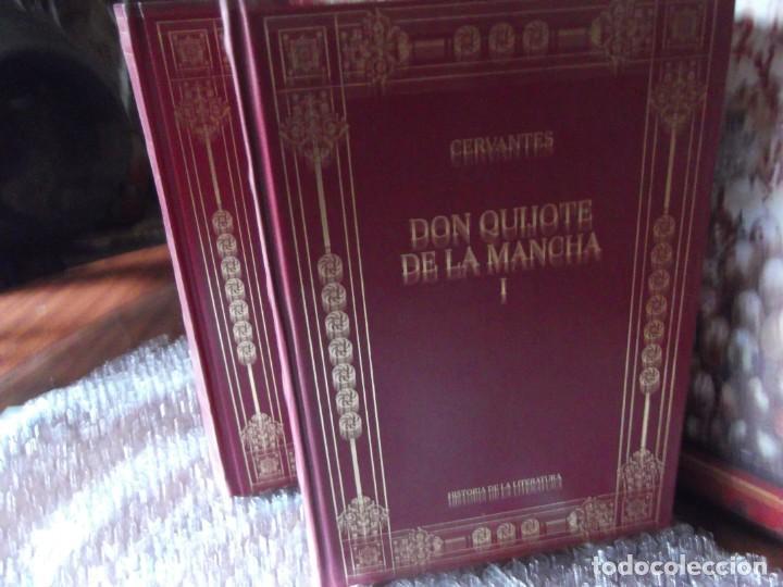 Libros de segunda mano: Los 2 Tomos de Don Quijote de la Mancha de Cervantes , magníficos Libros en 2 tomos - Foto 3 - 207092033