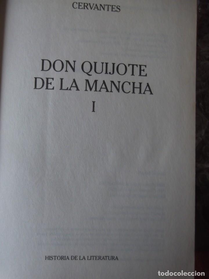 Libros de segunda mano: Los 2 Tomos de Don Quijote de la Mancha de Cervantes , magníficos Libros en 2 tomos - Foto 4 - 207092033