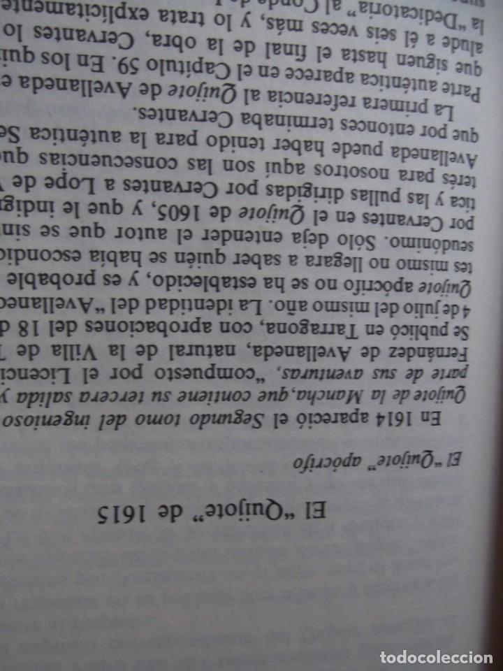 Libros de segunda mano: Los 2 Tomos de Don Quijote de la Mancha de Cervantes , magníficos Libros en 2 tomos - Foto 8 - 207092033