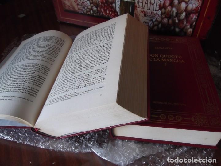 Libros de segunda mano: Los 2 Tomos de Don Quijote de la Mancha de Cervantes , magníficos Libros en 2 tomos - Foto 9 - 207092033