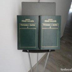 Libri di seconda mano: FORTUNATA Y JACINTA, BENITO PEREZ GALDOS, ORBIS, 1982, DOS TOMOS. Lote 207146778