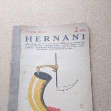 Libros de segunda mano: HERNANI. VICTOR HUGO. Lote 207240670