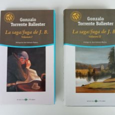 Libros de segunda mano: LA SAGA / FUGA DE J. B., GONZALO TORRENTE BALLESTER, BIBLIOTECA EL MUNDO.. Lote 207492923