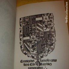 Livres d'occasion: EL CANTAR DE MÍO CID. ANÓNIMO. CLÁSICOS DE LA LITERATURA ESPAÑOLA. AÑO 2000.. Lote 207701157