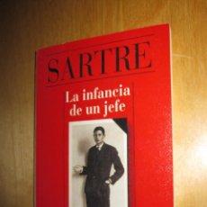 Libros de segunda mano: LA INFANCIA DE UN JEFE. SARTRE. ALIANZA CIEN. Lote 207714422
