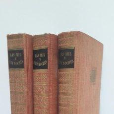 Libros de segunda mano: LAS MIL Y UNA NOCHES. 3 TOMOS EDITORIAL IBERIA, 1956.. Lote 207894978