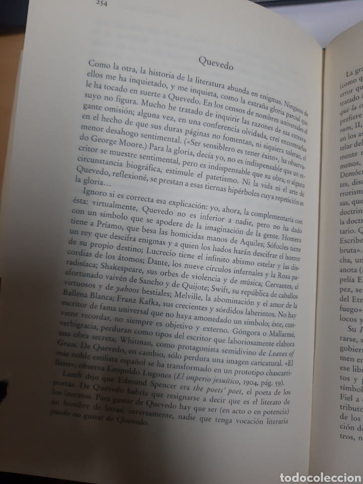 Libros de segunda mano: Obras completas Obras completas 1941-1960 por Jorge Luis Borges (1992) - Borges, Jorge Luis - Foto 6 - 178711220