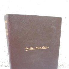 Libros de segunda mano: OBRAS COMPLETAS. NOVELAS Y CUENTOS. TOMO II. EMILIA PARDO BAZAN. AGUILAR 1964. Lote 208167912