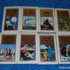 Libros de segunda mano: LOTE 8 LIBROS LAS GRANDES NOVELAS DE AVENTURAS 1984-1986 EDITORIAL ORBIS JULIO VERNE MUY BUEN ESTADO. Lote 208175593