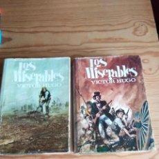 Libros de segunda mano: LOS MISERABLES. VICTOR HUGO. TOMO I Y II. 1967. Lote 208357743