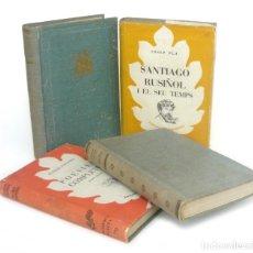 Livres d'occasion: 1949 - LOTE DE 4 LIBROS - ANGEL GUIMERÀ, JOSEP PLA, J.FOLGUERA, V. CATALÀ - ED. SELECTA - EN CATALÁN. Lote 208804400