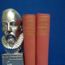 Livres d'occasion: AGATHA CHRISTIE, OBRAS ESCOGIDAS. AGUILAR. 2 TOMOS.1961.. Lote 208822987