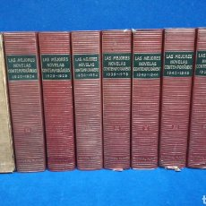 Livres d'occasion: LAS MEJORES NOVELAS CONTEMPORÁNEAS. EDITORIAL PLANETA. 8 TOMOS. 1974.. Lote 208832931