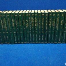 Livres d'occasion: LOTE DE 27 LIBROS. BIBLIOTECA DE NOVELA HISTÓRICA. EDICIONES ORBIS.. Lote 208856220
