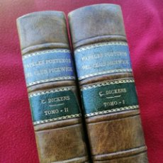 Livres d'occasion: CHARLES DICKENS. PAPELES PÓSTUMOS DEL CLUB PICKWICK. ESPASA CALPE, 1943. Lote 209029587