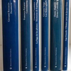 Livres d'occasion: 8 CLÁSICOS ITALIANOS DE ÁNGEL CRESPO. CÍRCULO DE LECTORES · OPERA MUNDI · GALAXIA GUTENBERG. Lote 209110782