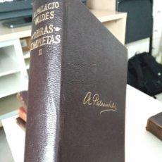 Libros de segunda mano: OBRAS COMPLETAS A. PALACIOS VALDES. 1970. TOMO II. Lote 209125885