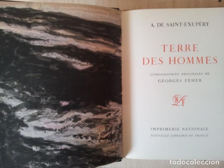 Libros de segunda mano: ANTOINE DE SAINT-EXUPERY - OBRAS COMPLETA 5 TOMOS, IMPRIMERIE NATIONALE NOUVELLE LIBRAIRIE DE FRANCE - Foto 3 - 209176795