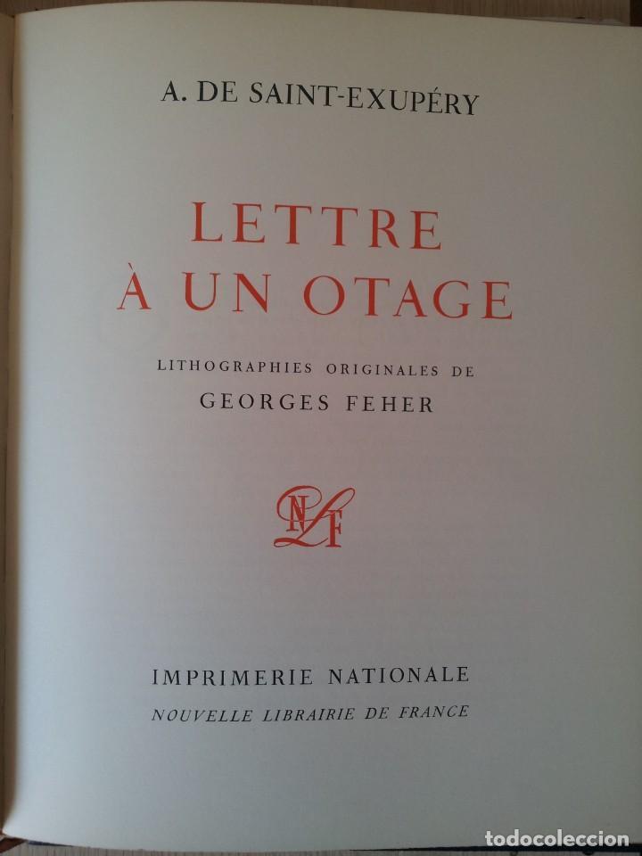 Libros de segunda mano: ANTOINE DE SAINT-EXUPERY - OBRAS COMPLETA 5 TOMOS, IMPRIMERIE NATIONALE NOUVELLE LIBRAIRIE DE FRANCE - Foto 11 - 209176795