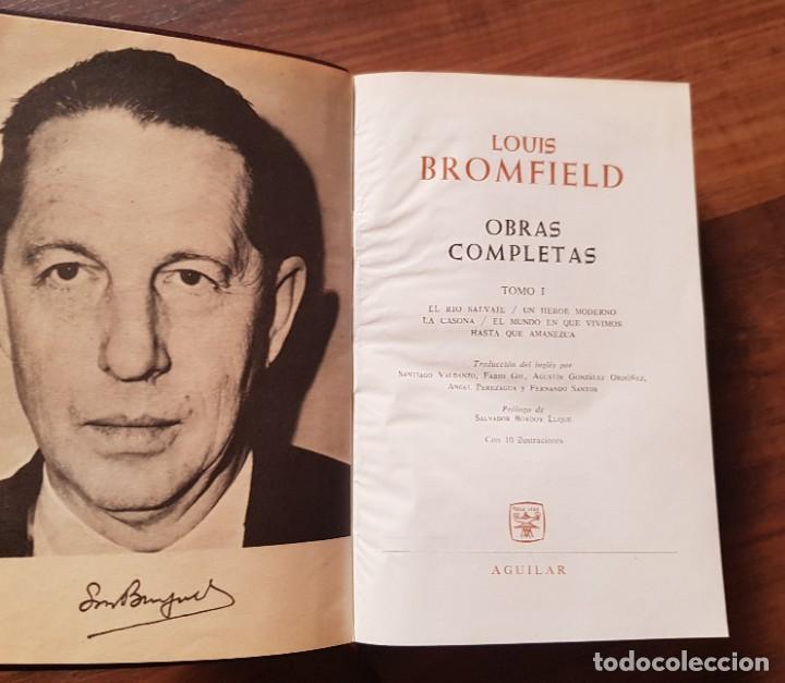 Libros de segunda mano: Louis Bromfield Obras Completas - Foto 2 - 209256666