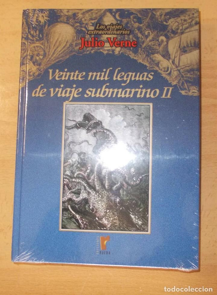 "Libros de segunda mano: libro"" Veinte Mil Leguas de Viaje Submarino"" tomo II - Foto 2 - 209415385"