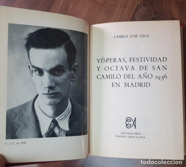 Libros de segunda mano: Vísperas, Festividad y Octava de San Camilo del año 1936 - Foto 2 - 209597462