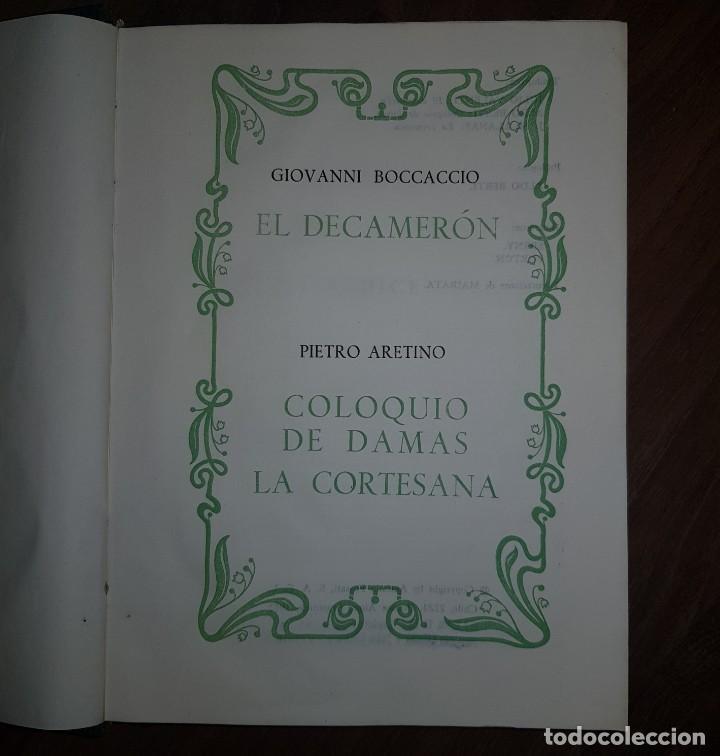 Libros de segunda mano: Camilo José Cela. El Arco de Eros. El Dacamerón. Coloquio de Damas - Foto 3 - 209598872