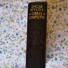 Libros de segunda mano: AGUILAR OSCAR WILDE. Lote 209748860