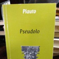 Livros em segunda mão: PSÉUDOLO, PLAUTO. L.14508-875. Lote 209906035