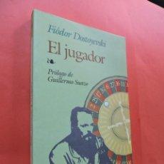 Libros de segunda mano: EL JUGADOR. DOSTOYEVSKI, FIÓDOR. EDITORIAL EDAF. MADRID 1998.. Lote 210265493