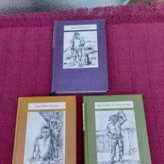 Libros de segunda mano: TRILOGÍA DEL CAMPO-MIGUEL DELIBES-CIRCULO DE LECTORES 1985 -LAS RATAS-EL CAMINO-LOS SANTOS INOCENTES. Lote 210342827