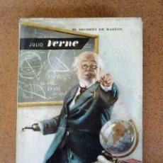Libros de segunda mano: EL SECRETO DE MASTON JULIO VERNE (1961). Lote 210375138